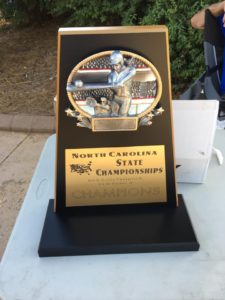 NC State NSA Girls Fastpitch Champion Trophy