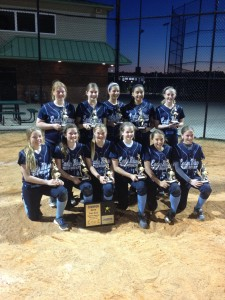 The Winning Lady Blues FastPitch Team Coach: Bill Baylog March 2014